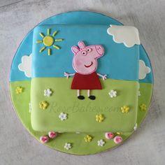 Peppa Pig Cake - Rose Bakes
