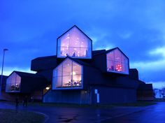 Vitra Design Museum in Basel. Vitra Design Museum, Frank Gehry, Basel, Mansions, Architecture, House Styles, Art, Travel, Mansion Houses