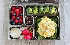 6 Healthy Bento Boxes Better Than Starbucks: Egg Salad Sandwich Bento Box Recipe