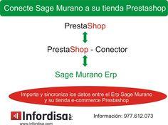 Sage Murano: Conecte Sage Murano a su tienda Prestashop
