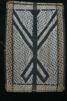 Losa Mat from the Mbole people in D.R. Congo. 51,5 x 37 cm