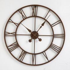 Relógio de parede em metal Zivos   LA REDOUTE   La Redoute