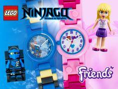 Neu! LEGO® Kinder-Uhren bei #imppac! Für Mädchen haben wir eine Traumuhr in Rosa von Friends im Angebot und für die Jungen coole LEGO® Ninjago oder Star Wars Uhren. So lernen auch die Kleinsten spielerisch leicht die Uhrzeit. Lego Ninjago, Star Wars, Friends, Pink, Watches Online, Cool Lego, Boys, Learning, Jewelery