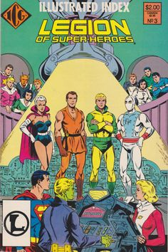 The Official Legion of Super-Heroes Index (Volume) - Comic Vine