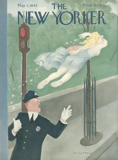 The New Yorker - Saturday, May 1, 1943 - Issue # 950 - Vol. 19 - N° 11 - Cover by : William Cotton
