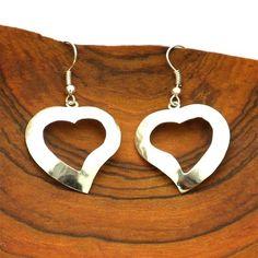 Fair Trade Designs - Silver Heart Earrings, $20.00 (http://www.fairtradedesigns.com/silver-heart-earrings/)