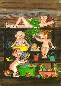 Illustration, Virpi Pekkala