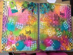 Cool dylusions page