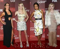 Lea Michele, Emma Roberts, Keke Palmer, & Abigail Breslin Have Looks That Could Kill At The Scream Queens' Premiere!