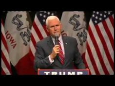 Mike pence calls on all Americans to Humble themselves and pray so God will heal the land - YouTube