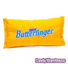 Small Plush Candy Pillow - Butterfinger