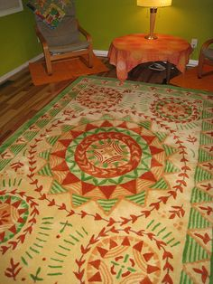 ...my Bedroom Rug By Susan Sargent! | Motifs | Pinterest | Studio, Bedrooms  And Pillows