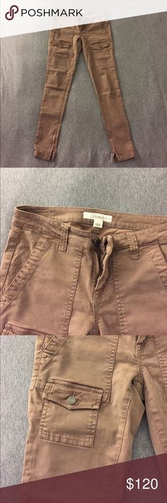 Joie Jeans light brown skinny pants Joie Jeans light brown colored skinny pants. Size 25. Makes your legs look slim and long. In a great condition (almost new). Joie Pants Skinny