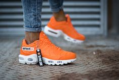 online store 1b7bc 5729b Nike Air Max Plus SE   Orange White   Womens Trainers  862201-007   Nike