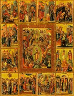 Below are the Twelve Articles of the Catholic Church listed and explained: Article One: I believe in God, the Father Almighty, Creator of heaven and earth: This declares our faith, trust and depend… Religious Icons, Religious Art, Russian Icons, Religious Paintings, Byzantine Icons, Russian Orthodox, Art Icon, Orthodox Icons, Jesus Christ