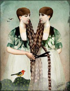 New work by Catrin Welz-Stein http://www.artisticmoods.com/catrin-welz-stein-2/