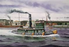 Image result for New York Railroad Tugboat