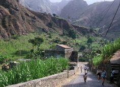 Cape Verde, where Mitch served. So pretty!