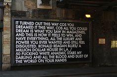 Street art/poetry