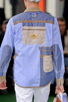 Junya Watanabe Man Men's Details S/S '14.  I might not wear it, but I love all the details