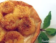 Panelaterapia | Tortinha Light de Banana | http://panelaterapia.com