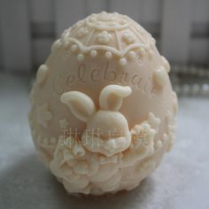 Cheap mold for, Buy Quality silicone mold directly from China soap moulds Suppliers: free shipping  handmade soap silica gel mould candle soap mould silicone mold for DIY easter egg  rabbit