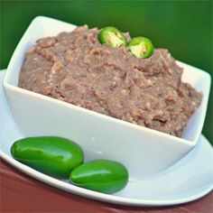 """Refried Beans Without the Refry 