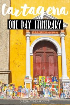Cartagena One day itinerary - Top things to do in Cartagena, Colombia Trip To Colombia, Visit Colombia, Colombia Travel, Backpacking South America, South America Travel, Ecuador, Peru, Panama Cruise, Pacific Cruise