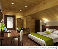 15 Attic Rooms Converted Into Simple Yet Elegant Bedrooms | Home Design Lover
