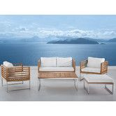 Found it at AllModern - Bermuda Luxury 5 Piece Deep Seating Group with Cushions Outdoor Sofa Sets, Outdoor Living, Outdoor Furniture Sets, Outdoor Decor, Sofa Set Online, Garden Sofa Set, 5 Seater Sofa, Lounge, All Modern