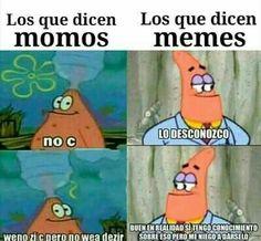 Se dice memes no momos ☝ Best Memes, Dankest Memes, Funny Memes, Funny Spanish Memes, Troll Face, Pinterest Memes, Drama Memes, Stranger Things, Funny Pictures