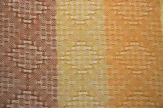 huck weave dish towel pattern