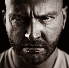 An angry face. Anger Photography, Emotional Photography, Portrait Photography, Rage, Emotion Faces, Emotion Art, Expressions Photography, Angry Face, Face Reference