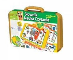 Lisciani Giochi - Słownik nauka czytania walizka