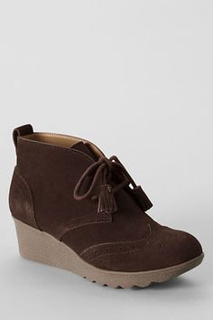 Lands' End Women's Chalet Chukka Booties on shopstyle.com