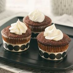Holiday Gingerbread Cupcakes Recipe from Taste of Home