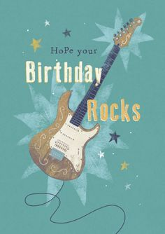 Claire Mcelfatrick - Male Birthday Music Rock Guitar