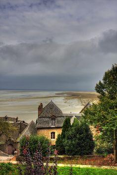 Mont-St-Michel, Normandy, France