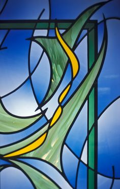 Kessler Studios Stained Glass- Good Samaritan Hospital Waiting Room
