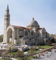 The Basilica of the National Shrine of the Immaculate Conception.  Can't wait to visit this place.