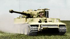 Tiger '321' from schwere SS-Panzer-Abteilung 101 in Northern France in the spring of 1944.