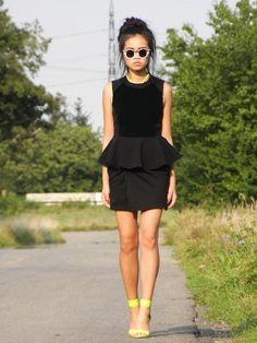 Shop this look on Kaleidoscope (dress, sandals)  http://kalei.do/WJTaVfbyKDBa2fyS