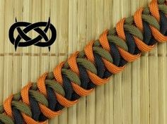 How to make a Cascading Ladders Bar Paracord Bracelet - YouTube