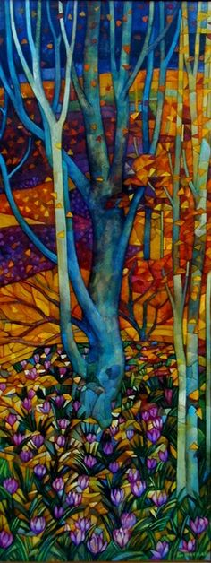Art quilt by Elisabetta Trevisan.