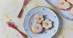 Citromos keksz recept   Street Kitchen Tiramisu, Muffin, Dessert Recipes, Cookies, Breakfast, Food, Crack Crackers, Morning Coffee, Biscuits