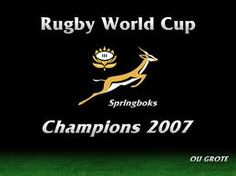 springbok rugby world cup champions 2007 World Cup Champions, Rugby World Cup, South Africa, Love You, Sports, Beauty, Hs Sports, Te Amo, Je T'aime