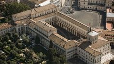 Palacio de Quirinale, presidencia del Gobierno de Italia Roma.