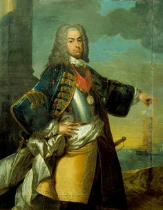King João V painted by Pierre Antoine Quillard - National Museum of Ancient Art Kingdom Of Navarre, Portuguese Royal Family, History Of Portugal, Royal Family Trees, Portuguese Culture, Royal Blood, National Museum, Conceptual Art, Ancient Art