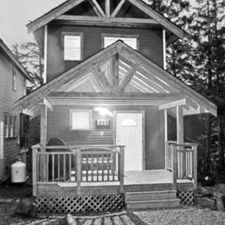 I loved these cottages in Ucuelet complete with hot tub on deck facing the forest. Cottage Image, Hot Tub Deck, Pet Friendly Accommodation, Cozy Cottage, Cottages, Gazebo, Canada, Outdoor Structures, Island