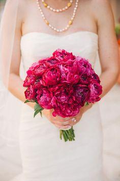 Magenta Bouquet | Brides.com